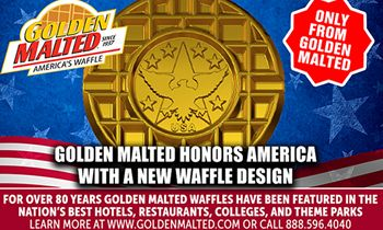 New Waffle to Honor America – Only From Golden Malted