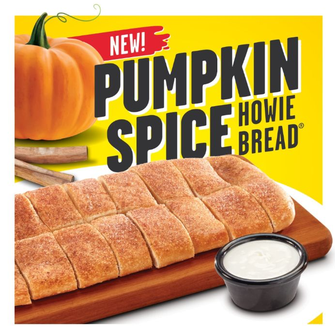 Hungry Howie's Releases a New Pumpkin Spice Howie Bread