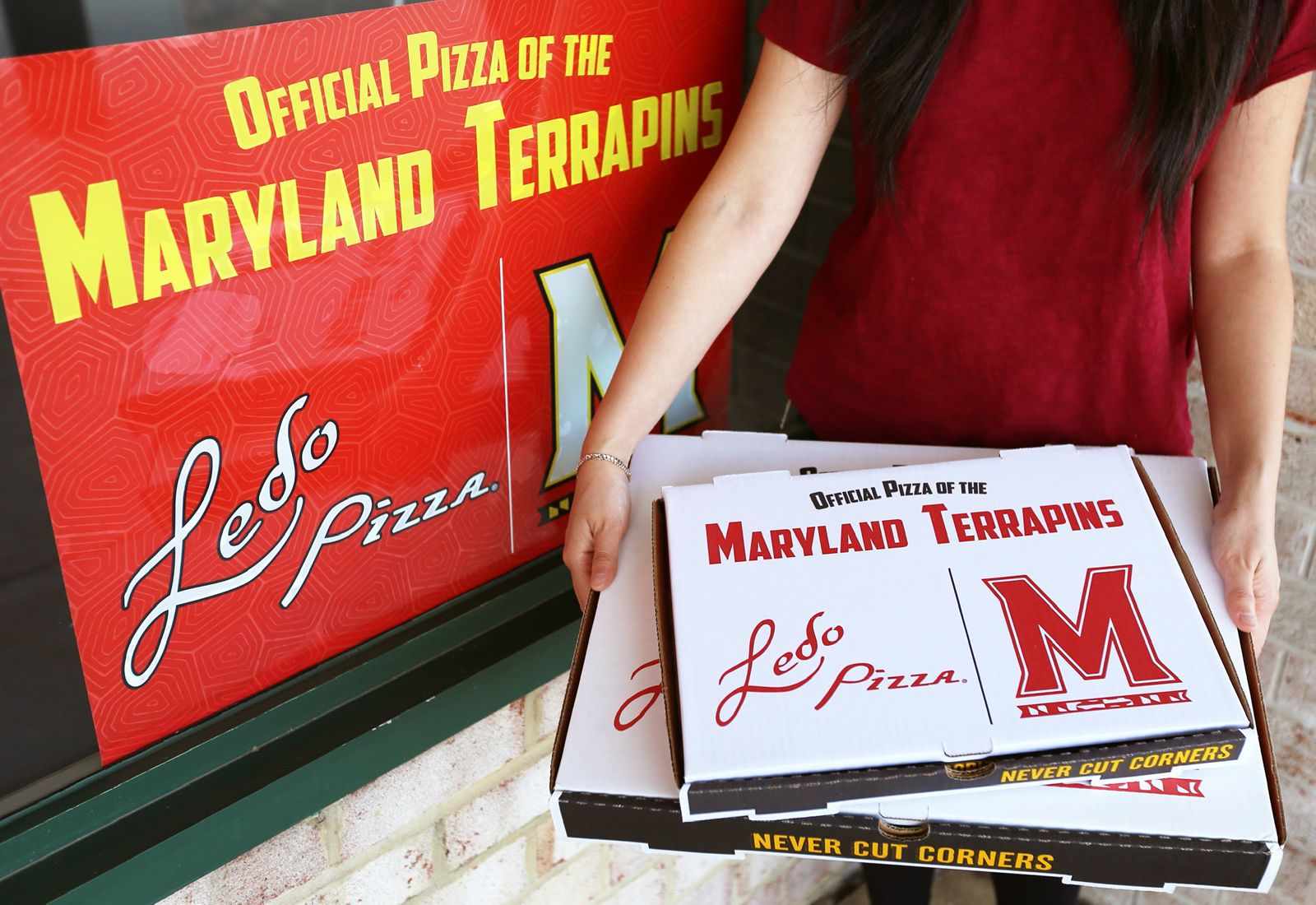 Ledo Pizza Named Official Pizza of the Maryland Terrapins