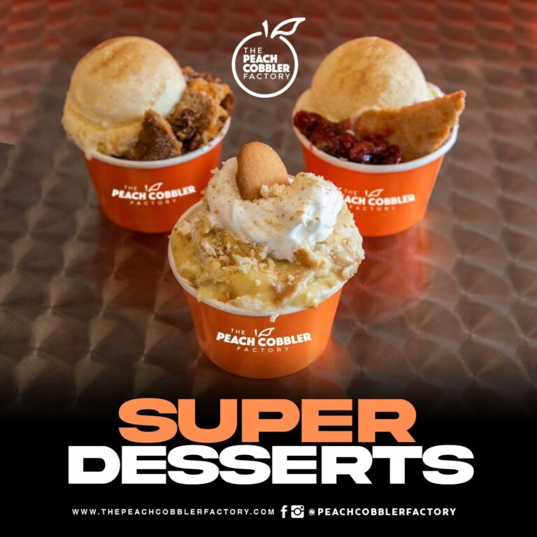 Peach Cobbler Factory Soars Into the Peach State With New Location in Atlanta
