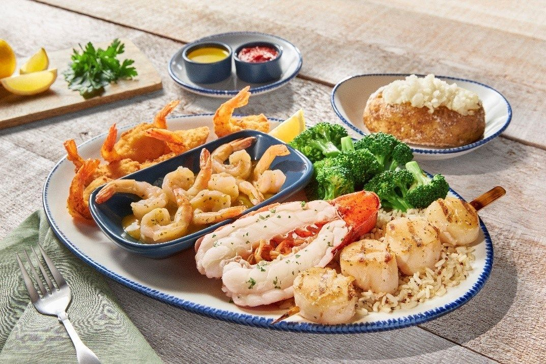 Red Lobster Introduces New Lineup of Signature Feasts
