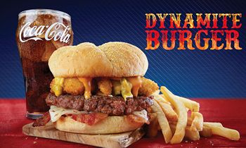 The Return of the Roy Rogers Dynamite Burger: It's a Kick in the Tastebuds