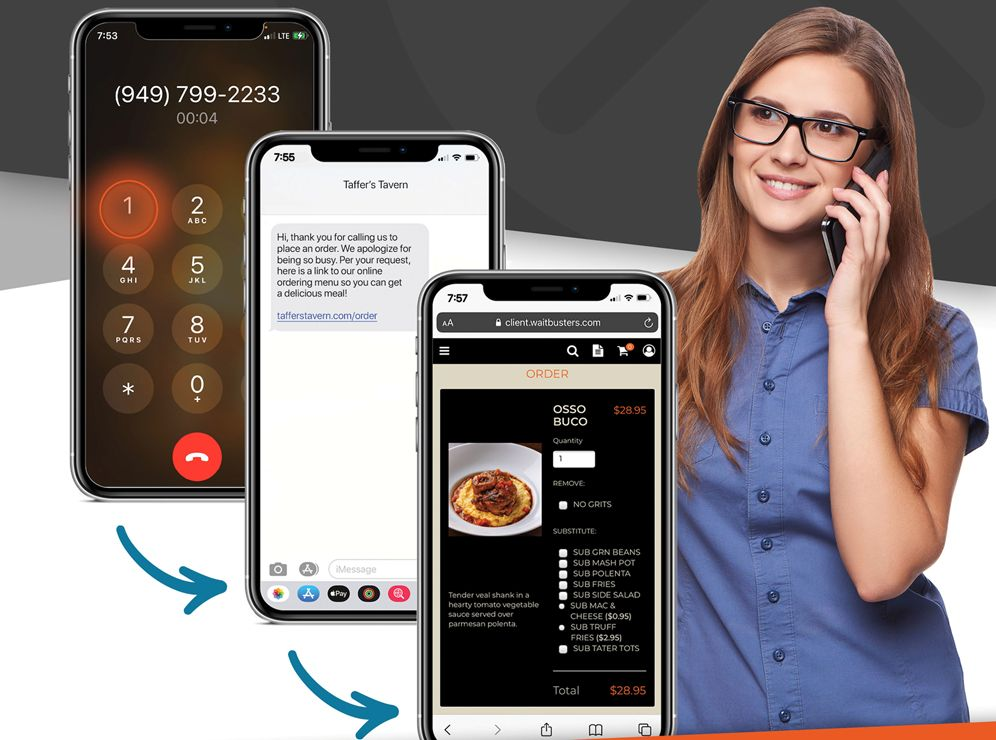 """Waitbusters Releases New """"Call Concierge"""" Feature to Assist With Restaurant Labor Shortage"""