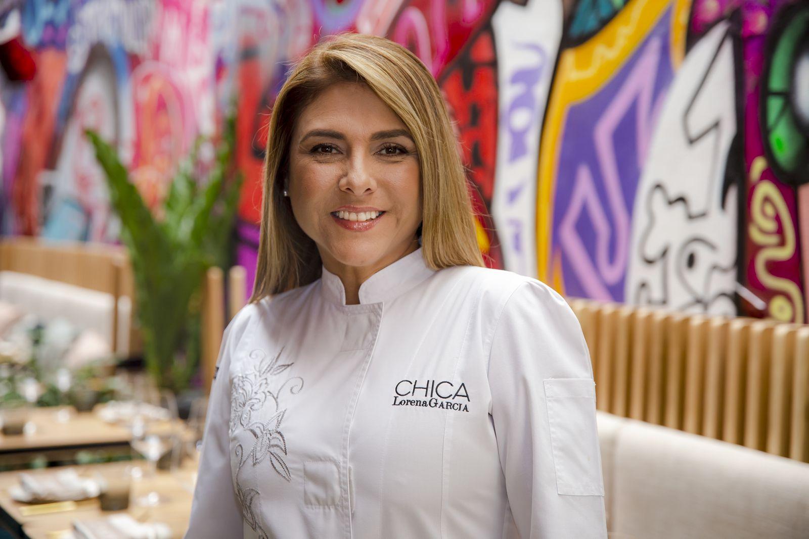 Celebrity Chef Lorena Garcia