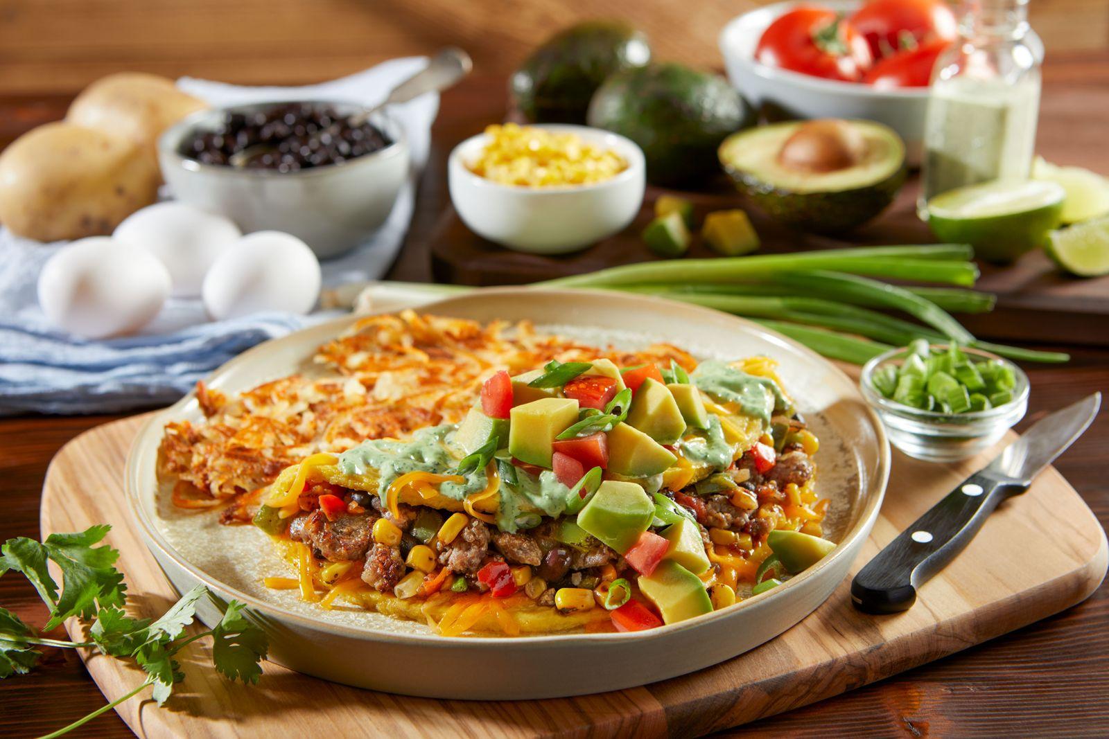 Bob Evans Restaurants Southwest Avocado Omelet