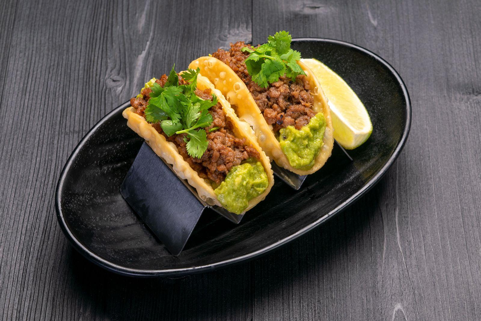 JINYA Ramen Bar Impossible Tacos