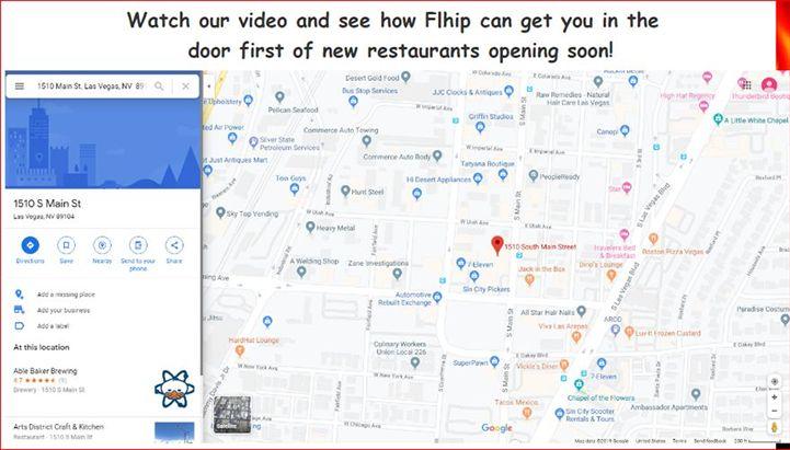 Restaurant Vendors, Let Us Help You Get In the Door First of New Restaurants Opening Soon!