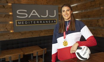 SAJJ Mediterranean Aces Partnership With USA Paralympic MVP and Gold Medalist Katie Holloway