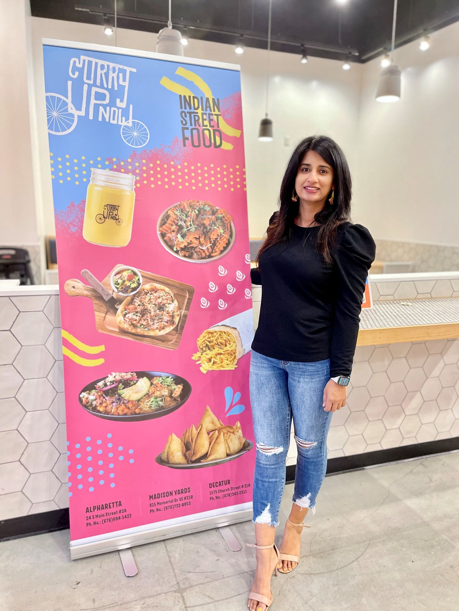 Curry Up Now Dominates Southern Expansion, Partners With Women-Owned Franchisee To Secure Third Franchise Deal in Texas